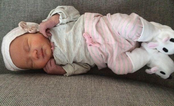 """""""Minni"""" on varmuudella vuoden ensimmäisiä vauvoja, ellei ensimmäinen."""