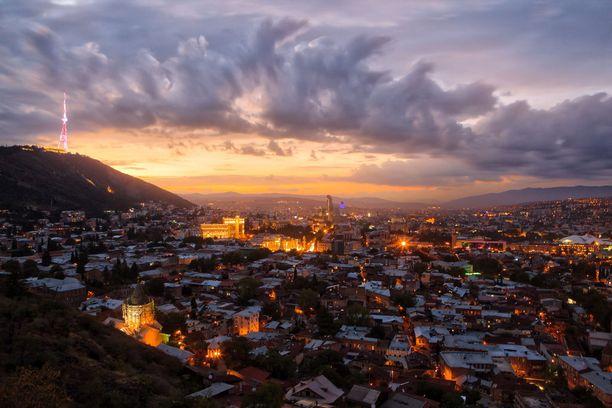 Eksoottinen Tbilisi ihastuttaa monella tapaa.