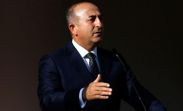 Turkin ulkoministeri Mevlut Cavusoglu.