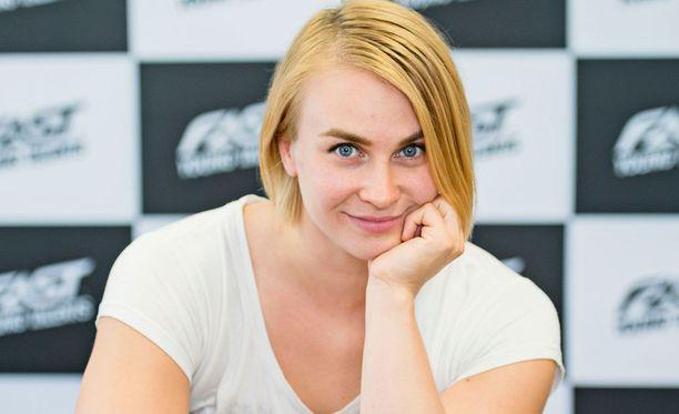 Sanni Utriainen uskoo, että hänellä on potentiaalia heittää uusi Suomen ennätys.