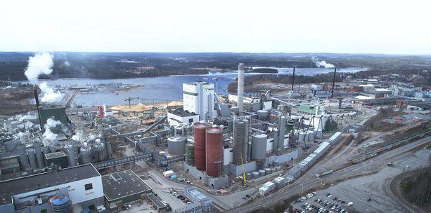 Metsä Groupiin kuuluvan Metsä Fibren Äänekosken biotuotetehdas valmistui 2017.