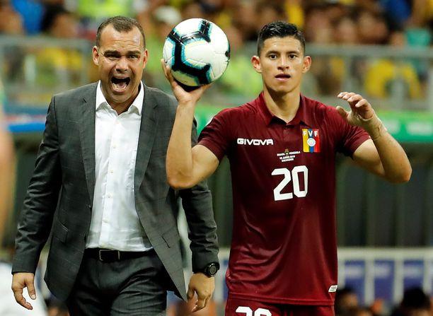 Venezuelan päävalmentaja Rafael Dudamel on valmiina piiskaamaan joukkueensa voittoon Boliviaa vastaan.