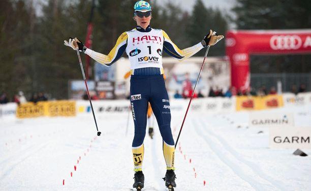 Matias Strandvall on sprintin Suomen mestari.