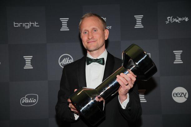 Kolminkertainen olympiakultamitalisti Samppa Lajunen on nykyään menestyvä liikemies.