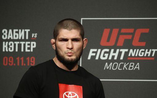 UFC:n supermatsi peruuntui taas - vastustajalta tylyä tekstiä Habib Nurmagomedovista