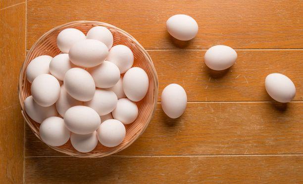Kananmunista on moneksi.