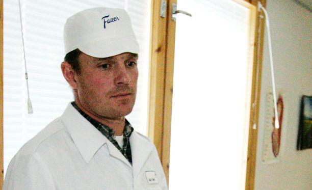 Karl Fazer kuvattuna Fazerin myllyn tiloissa Lahdessa vuonna 2005.