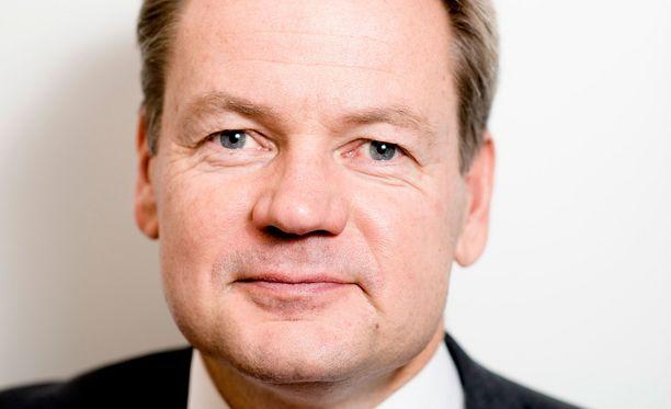 SM-liigan puheenjohtaja Vesa Puttonen.