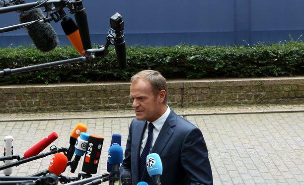 Donald Tusk on valittu Eurooppa-neuvoston puheenjohtajaksi toiselle kaudelle.