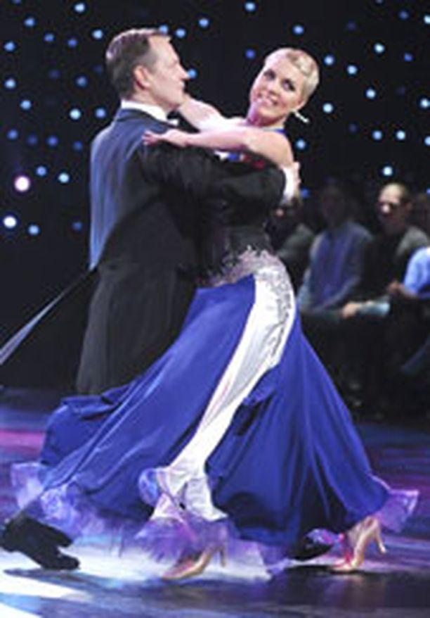 Jukka Tammen ja Saana Akiolan viime tanssi oli taistelun tulosta.