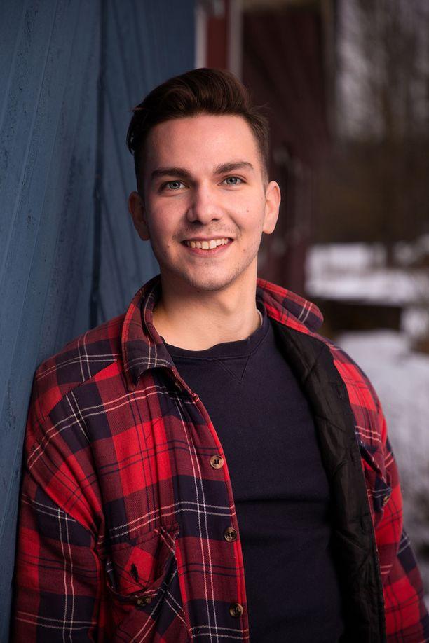 Heikki isännöi tilaansa Miehikkälässä.