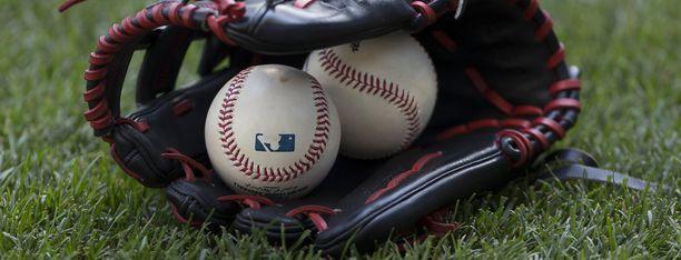 Baseball. Kuvituskuva.
