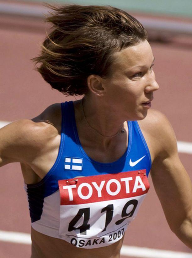 Johanna Manninen oli Suomen paras nainen maaottelussa.