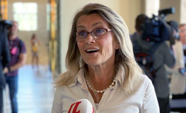 Päivi Räsänen nähtiin Masked Singer -ohjelman kilpailijana.