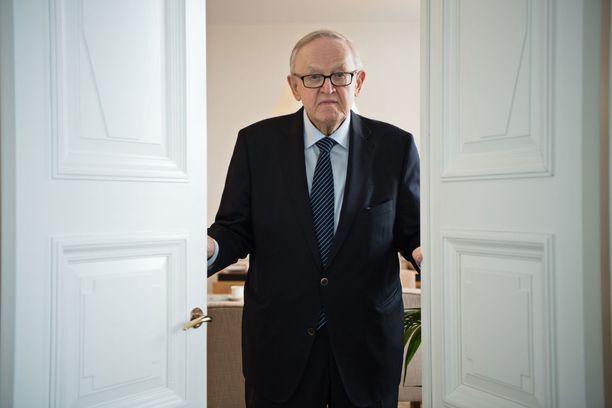 Martti Ahtisaari on arvostettu rauhanmies.