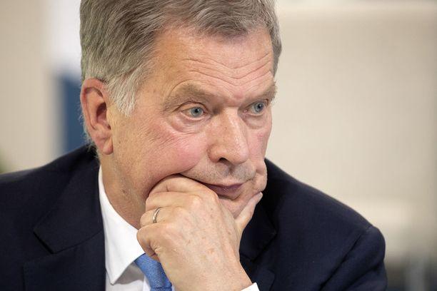 Tasavallan presidentti Sauli Niinistö toi sunnuntaina esiin huolensa siitä, ettei EU:ta kuulla riittävästi.