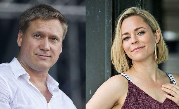 Samuli Edelmann ja Paula Vesala ovat tehneet aiemmin yhteistyötä musiikin saralla.
