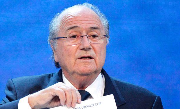 Sepp Blatter kertoi kesäkuun alussa eroavansa liiton johdosta.a