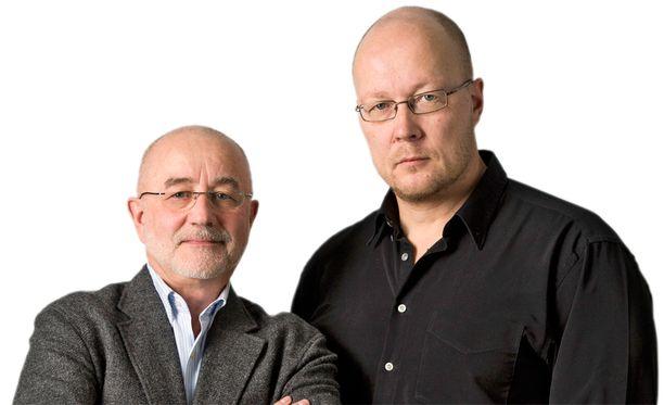 Boris Salomon ja Juha Ristamäki