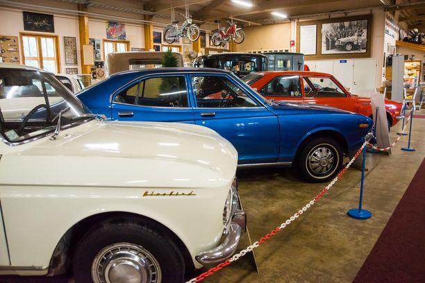 Tänä kesänä teemana on japanilaisten autojen maailmanvalloitus, joka alkoi Suomesta.