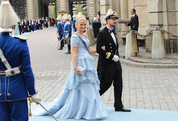 Norjan prinsessa Mette-Marit ja prinssi Haakon.