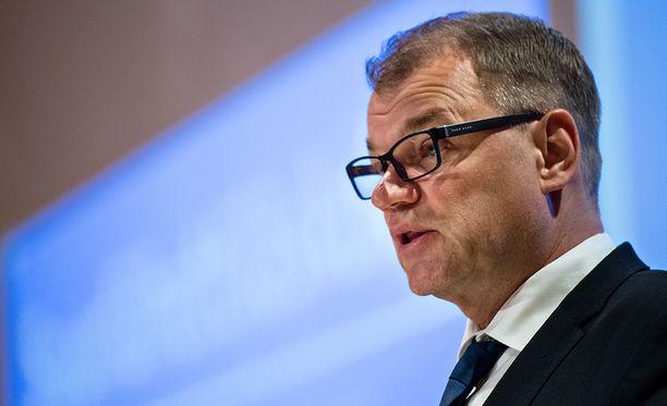 Pääministeri Juha Sipilä puhui Suurlähettiläspäivillä 21. elokuuta.