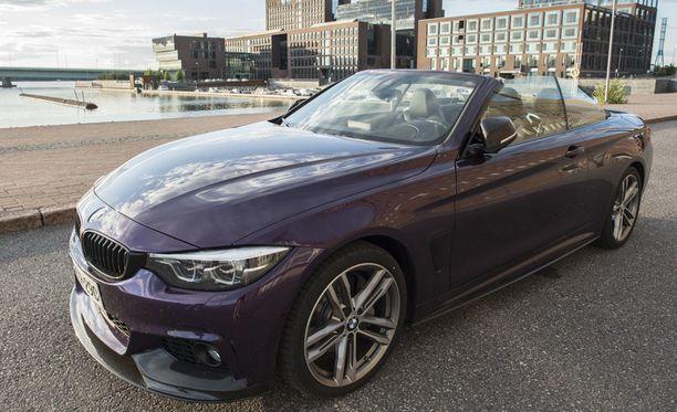 BMW:n 4-sarjan katon avaaminen kestää noin 25 sekuntia.