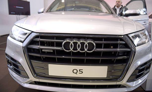Lottovoittajien suosikkiauto on Audi.