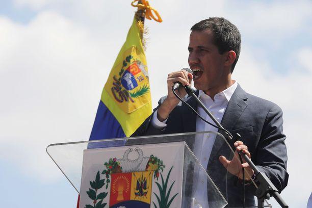Euroopan maat tunnustavat Guaidon aseman.