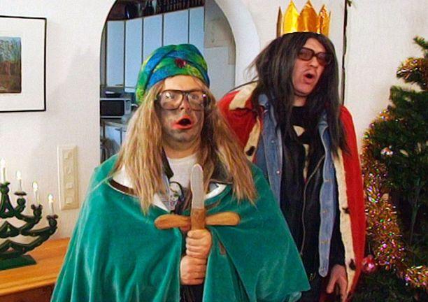 Joulu on saapunut Saku Östermalmille ja Speedy Keinosellekin.