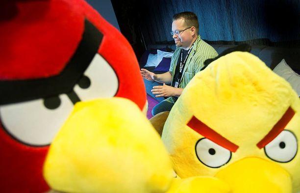 Angry Birds on menestystarina.