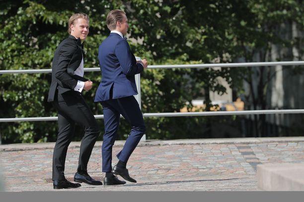 Mikael Granlund avioitui Helsingissä heinäkuussa 2019.