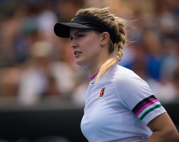 Eugenie Bouchard kukisti Australian avointen ensimmäisellä kierroksella Kiinan Peng Shuain 6-2, 6-1. Torstaina Bouchard kohtaa Serena Williamsin.