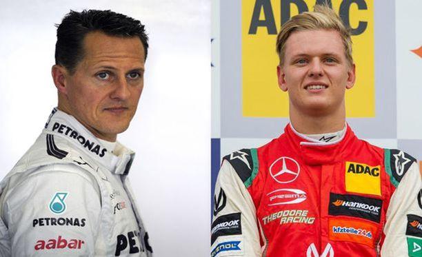 Michael Schumacher oli poikansa Mickin suuri esikuva. Michael lopetti F1-uransa ensimmäisen kerran vuonna 2006, mutta palasi vuonna 2010 vielä kolmeksi kaudeksi Mercedekselle.