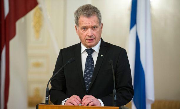 Presidentti Niinistö osallistuu lauantaina käytävään paneelikeskusteluun, jonka aiheena on muun muassa Ukrainan konflikti.