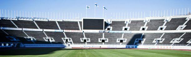 Helsingin Olympiastadion ei isännöi HJK:ta Schalke-ottelussa.
