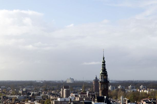 Groningen on vilkas ja nuorekas opiskelijakaupunki.
