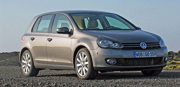 Yli 100 000 kilometriä ajettujen luokka: ykkönen VW Golf VI (2008).