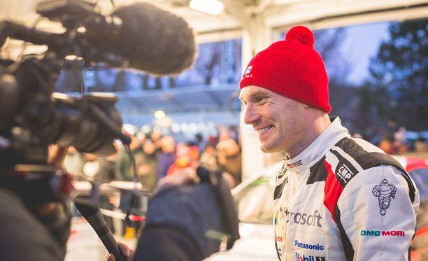 Jari-Matti Latvala ylitti odotukset Toyotalla. Arkistokuva.