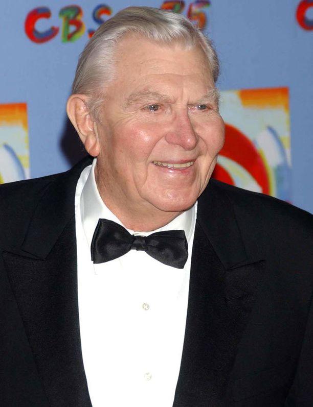 Tämä kuva Griffithistä otettiin vuonna 2003.