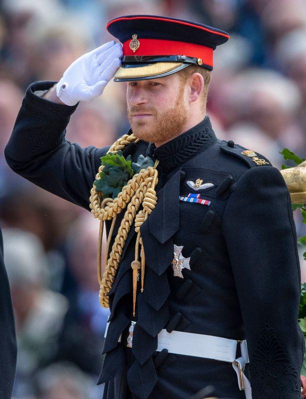 Prinssi Harry on parhaillaan Afrikassa vaimonsa ja poikansa kanssa.