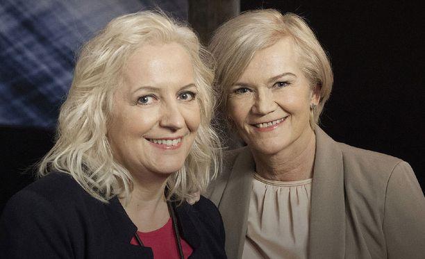 Moni katsoja iloitsee, kun Maarit Tastula ja Anne Flinkkilä saadaan takaisin televisioon.
