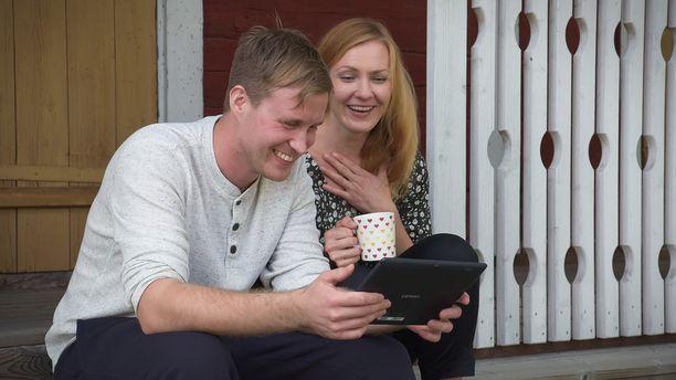 Tuomolla ja Marjolla synkkasi heti.