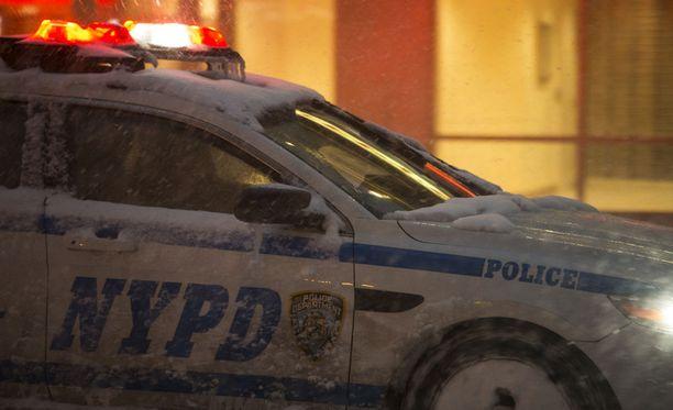 Kahta poliisi ammuttiin Washinton DC:ssä myöhään torstai-iltana paikallista aikaa. Kuvituskuva.