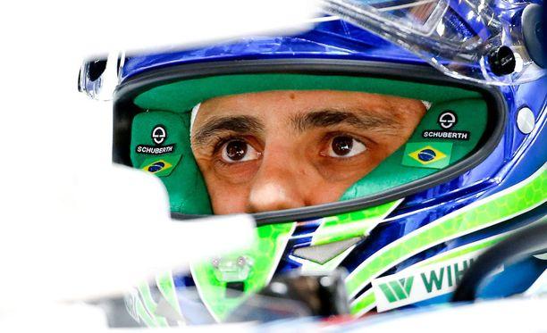 Felipe Massalta lähti auto lapasesta.