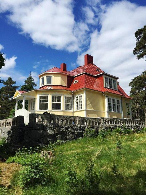 Villingin huvila on rakennettu 1900-luvun alussa.