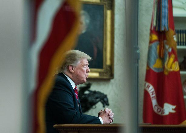 Presidentti Donald Trump on kutsunut Venäjä-tutkintaa noitavainoksi.