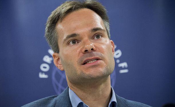 Sisäministeri Kai Mykkänen kommentoi katalaanijohtaja Carles Puigdemontin tilannetta Verkkouutisille.