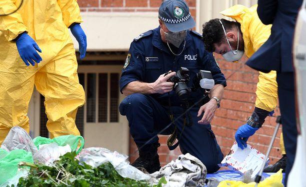 Epäiltyjen terroristisuunnitelmien takia neljä miestä otettiin kiinni poliisiratsioissa lauantaina.