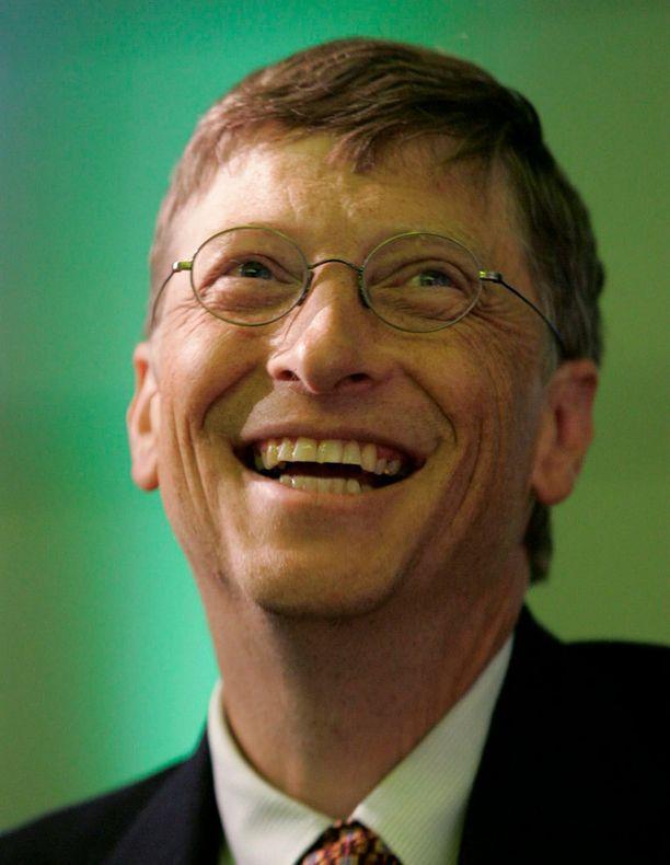 Maailman rikkain ihminen on jälleen kerran Bill Gates.